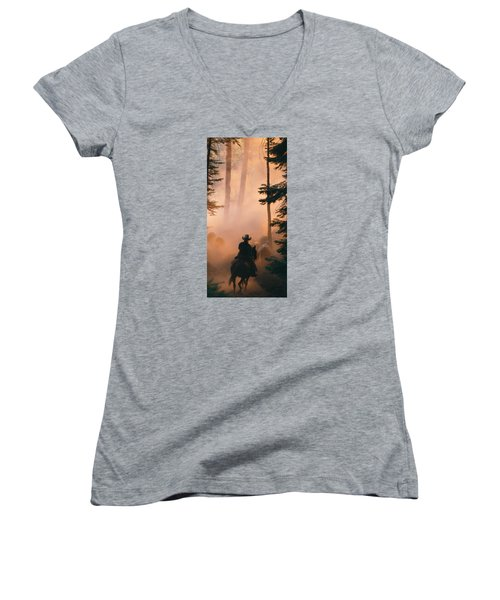 Shayna Women's V-Neck T-Shirt