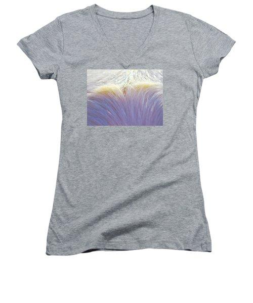 Sheaf  Women's V-Neck T-Shirt (Junior Cut) by Michelle Twohig
