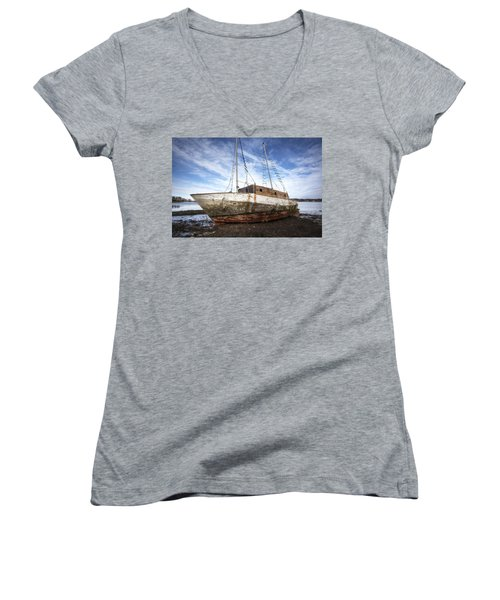 Shipwreck Women's V-Neck T-Shirt