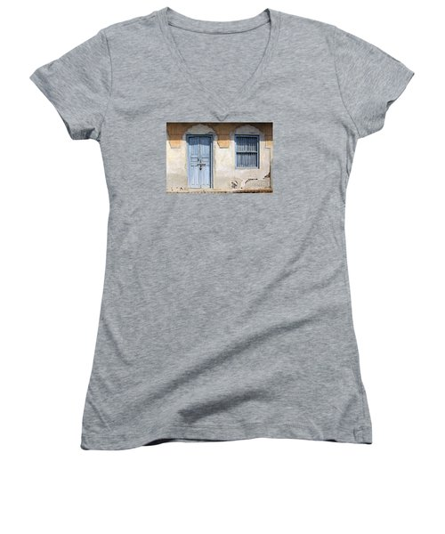 Shuttered #6 Women's V-Neck
