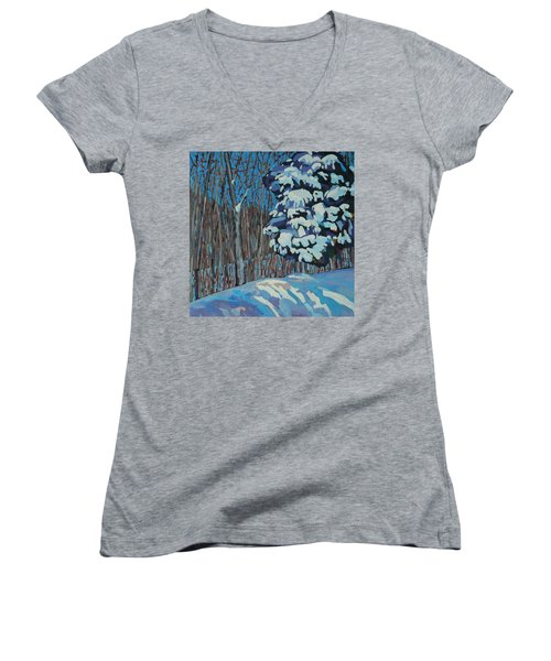 Significant Cedar Women's V-Neck T-Shirt (Junior Cut)