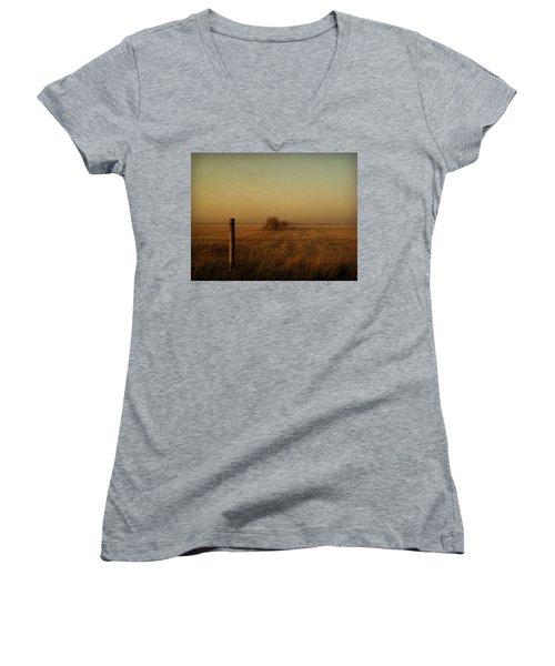 Silence Of Dusk Women's V-Neck T-Shirt