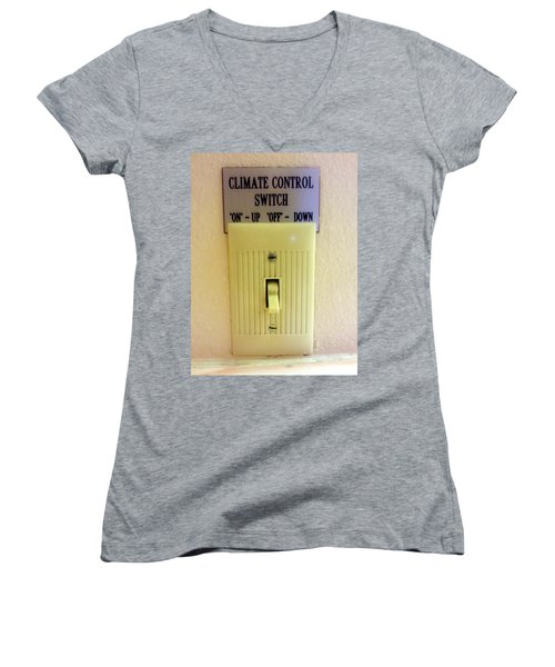 Simply Confusing Women's V-Neck T-Shirt