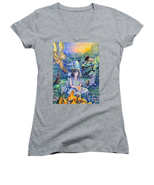 Simply Elemental Women's V-Neck T-Shirt