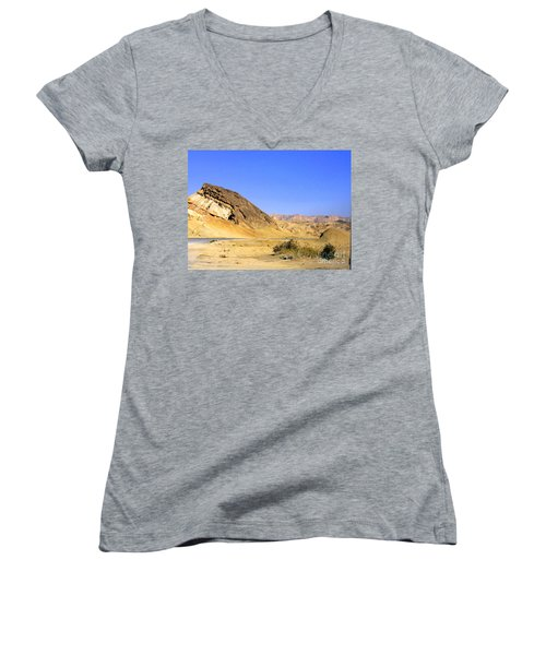 Sinai Desert  Women's V-Neck T-Shirt