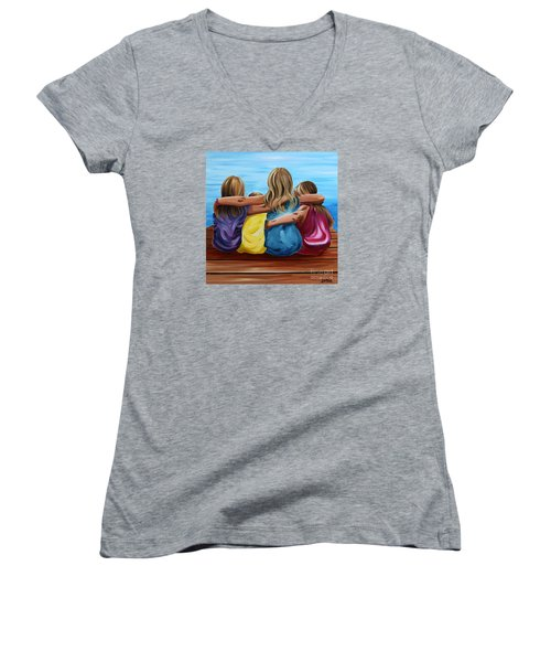 Sisters Women's V-Neck T-Shirt