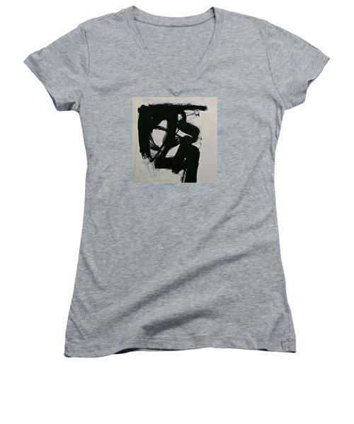 Sketchbook 3 Pg 19  Women's V-Neck T-Shirt (Junior Cut) by Cliff Spohn