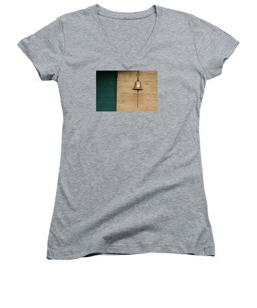 Skc 0005 Doorbell Women's V-Neck T-Shirt