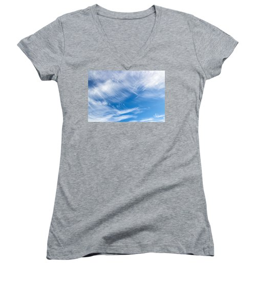 Sky Painting II Women's V-Neck T-Shirt