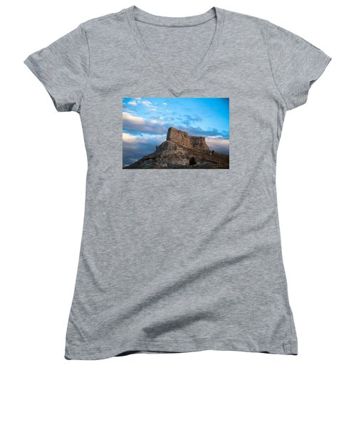 Skyline Women's V-Neck T-Shirt