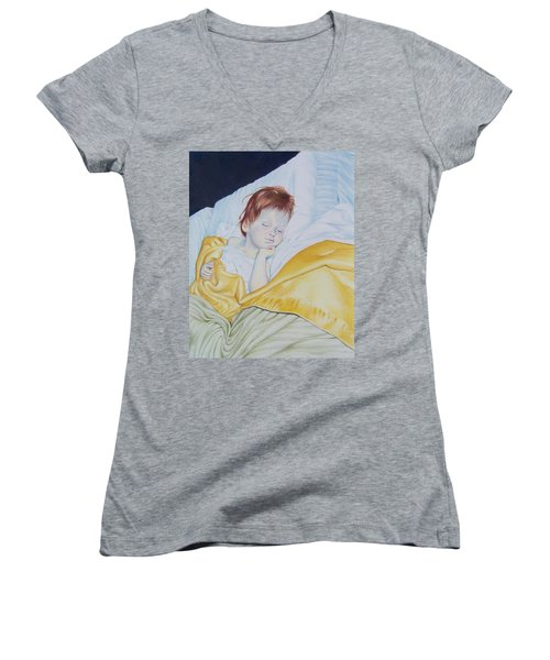 Sleeping Beauty Women's V-Neck (Athletic Fit)