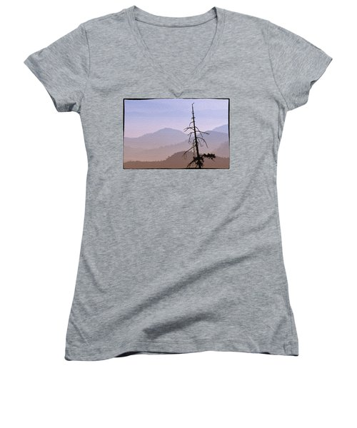 Snag On The Hill Women's V-Neck