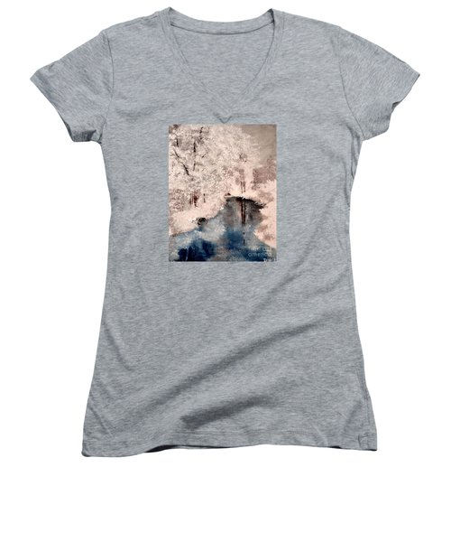 Winter Wonderland Women's V-Neck T-Shirt