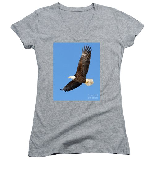 Soaring Eagle Women's V-Neck (Athletic Fit)