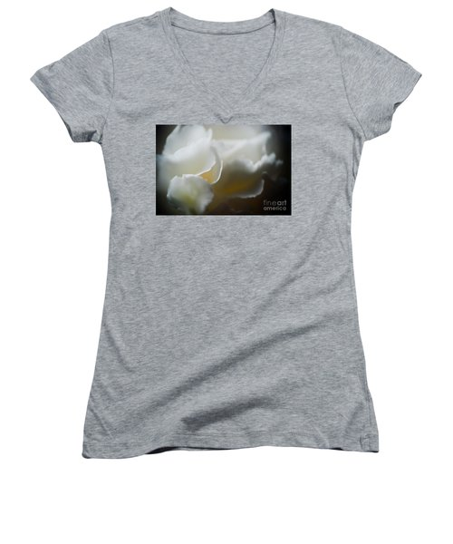 Soft And Delicate Women's V-Neck