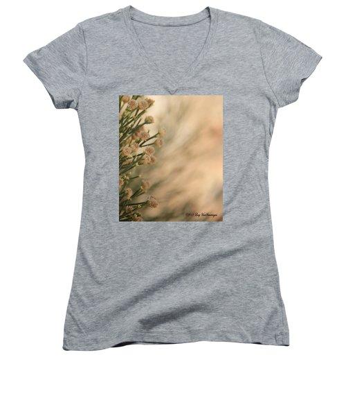 Softness In The Desert Women's V-Neck