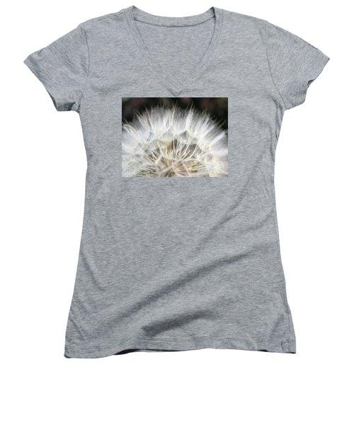 Women's V-Neck T-Shirt featuring the photograph Softness Of The World by Ausra Huntington nee Paulauskaite
