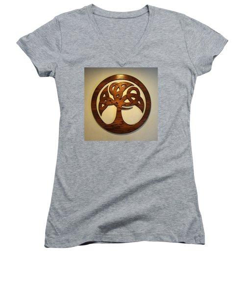 Sol Tree Women's V-Neck T-Shirt