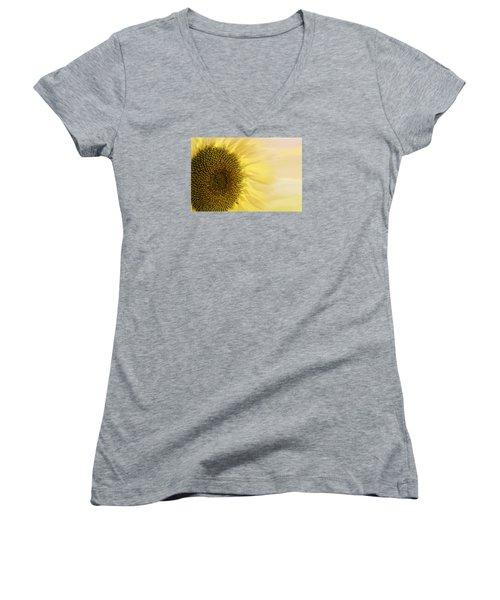 Solar Flare Women's V-Neck (Athletic Fit)
