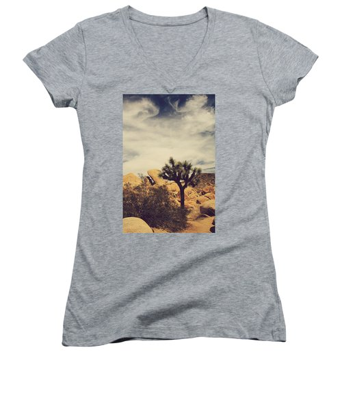 Solitary Man Women's V-Neck