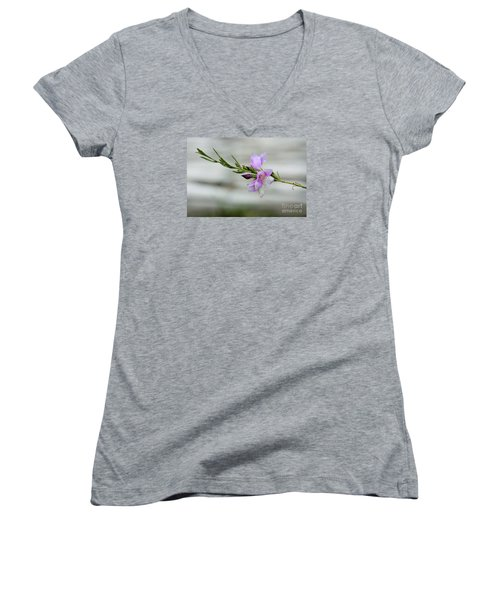 Solitary Women's V-Neck T-Shirt
