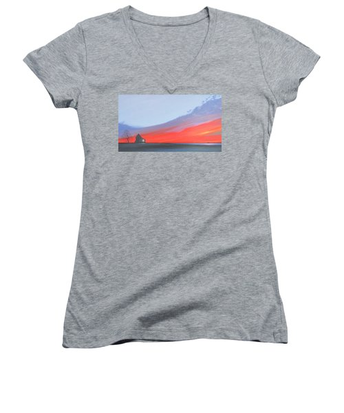 Solitude Women's V-Neck T-Shirt