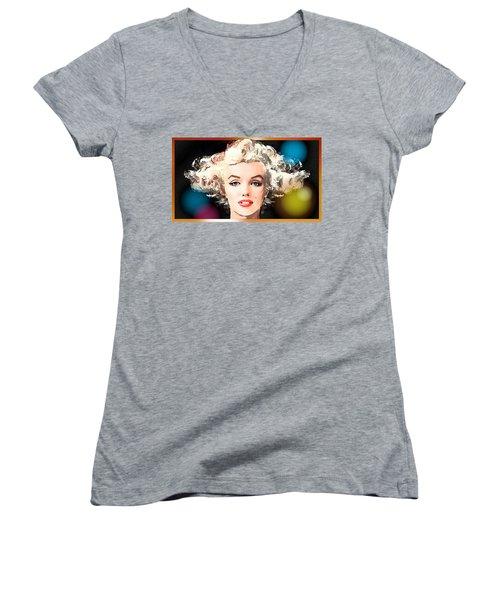 Marilyn - Some Like It Hot Women's V-Neck