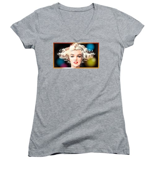 Marilyn - Some Like It Hot Women's V-Neck (Athletic Fit)