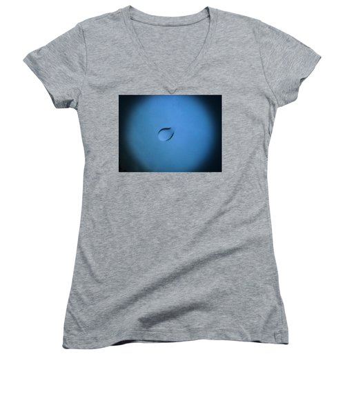 Women's V-Neck T-Shirt (Junior Cut) featuring the photograph Something Very Rare by Catherine Lott