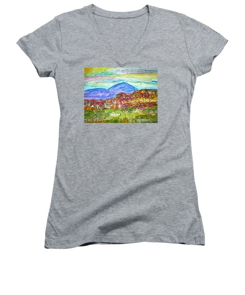 South Mesa Freestyle Women's V-Neck T-Shirt
