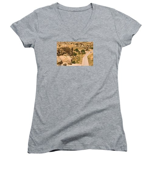 Southern Mesa View Women's V-Neck (Athletic Fit)