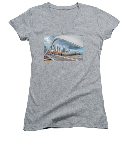 Southgate Bridge Women's V-Neck