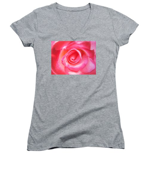 Women's V-Neck featuring the photograph Sparkle by Roxy Hurtubise