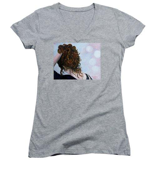 Spirit Guides Women's V-Neck T-Shirt