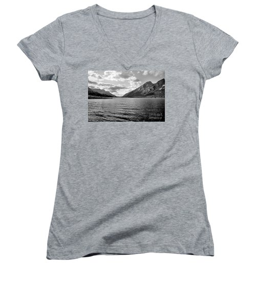 Spray Lake Women's V-Neck (Athletic Fit)