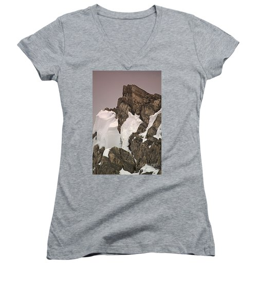 Spring At Beacon Hill Leicestershire Women's V-Neck T-Shirt