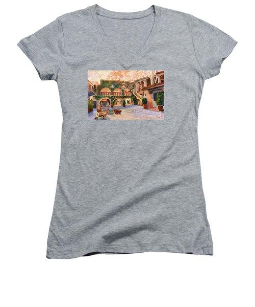 Spring In Tlaquepaque Women's V-Neck T-Shirt