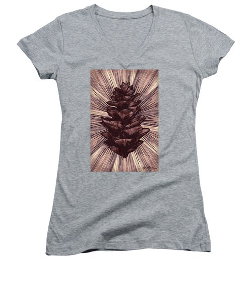 Spruce I Women's V-Neck T-Shirt