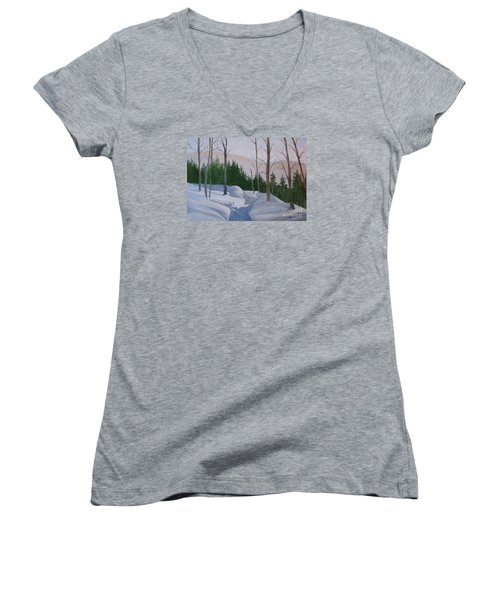 Stay On The Path Women's V-Neck