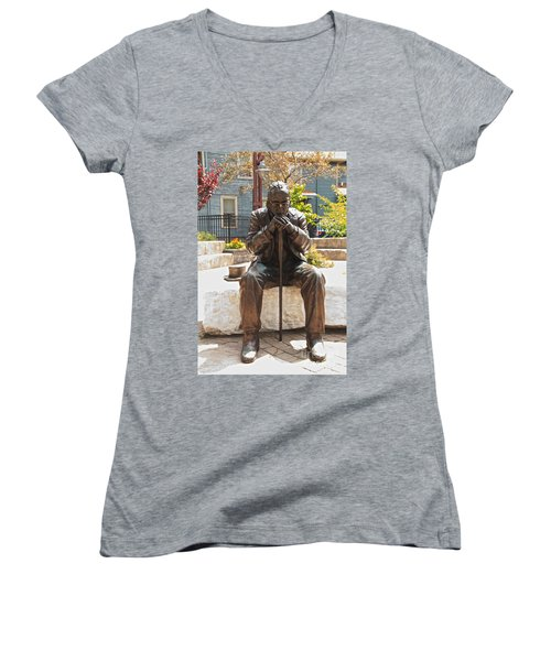 Still Waiting Women's V-Neck T-Shirt