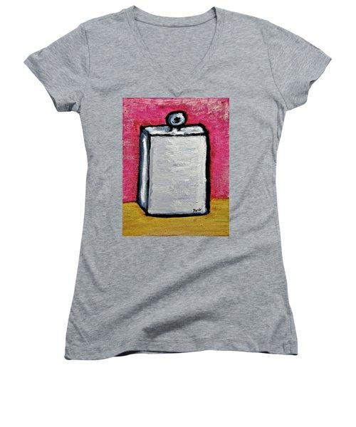 Stills 10-004 Women's V-Neck T-Shirt (Junior Cut) by Mario Perron