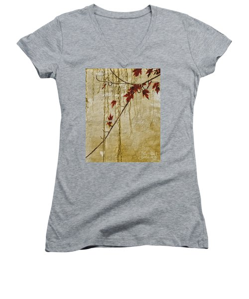 Stone Walled Women's V-Neck