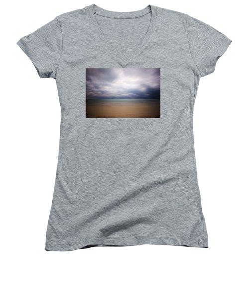 Stormy Calm Women's V-Neck