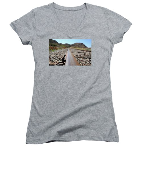 Straight And Narrow Women's V-Neck (Athletic Fit)