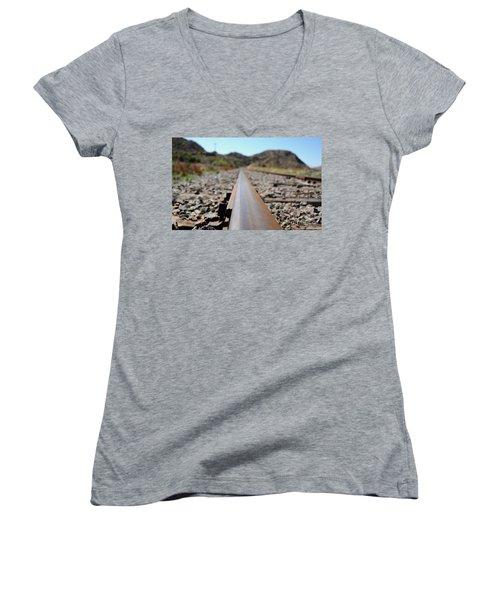 Straight And Narrow Women's V-Neck T-Shirt
