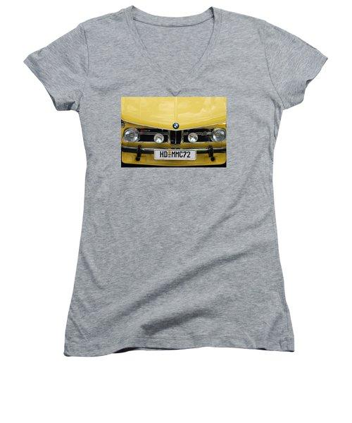Strange Bavarian Women's V-Neck T-Shirt (Junior Cut) by John Schneider