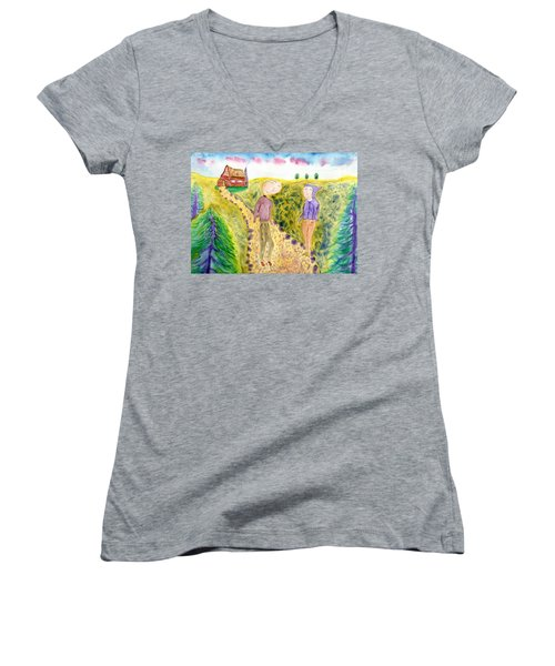 Cabin Trail Women's V-Neck (Athletic Fit)
