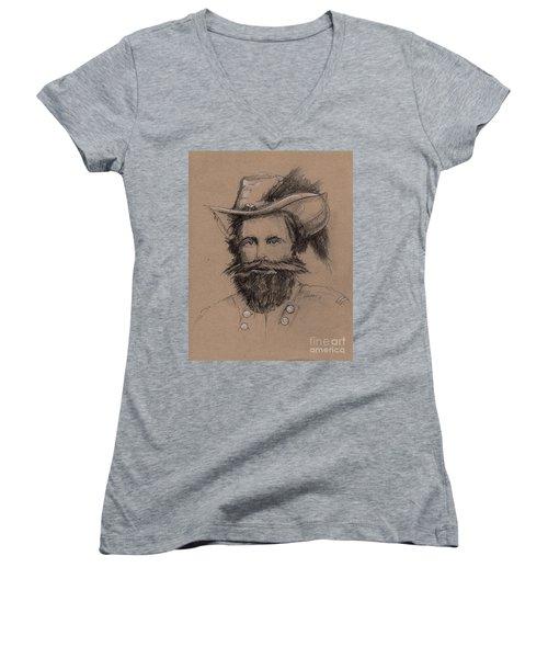 Stuart's Rebuke Women's V-Neck T-Shirt