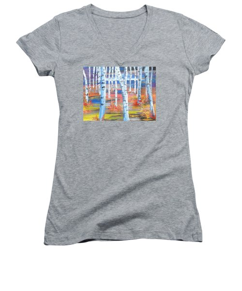 Subconscious Friends Women's V-Neck T-Shirt