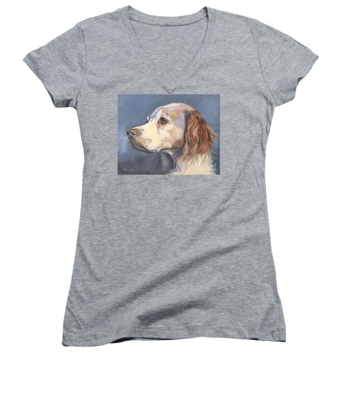 Such A Spaniel Women's V-Neck